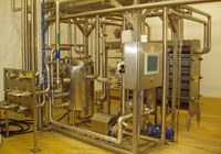 Technological equipment for dairies